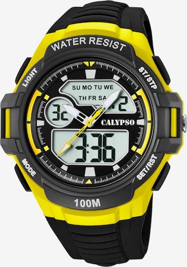 CALYPSO WATCHES Uhr in gelb / schwarz, Produktansicht