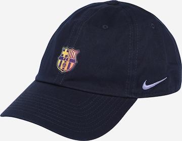 Casquette de sport 'FC Barcelona Heritage 86' NIKE en bleu