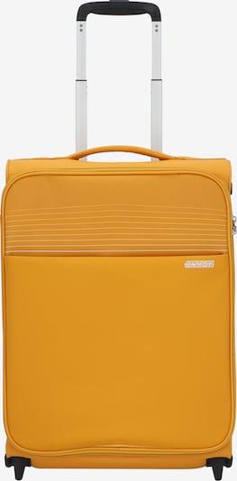 American Tourister Trolley 'Lite Ray' in gelb / schwarz / silber, Produktansicht