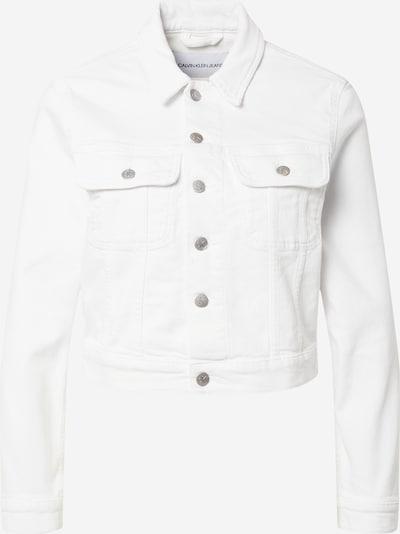 Calvin Klein Jeans Kurtka przejściowa w kolorze biały denimm, Podgląd produktu