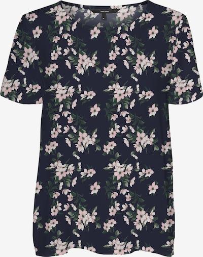 VERO MODA Bluse 'Simply' in beige / nachtblau / oliv / rosa, Produktansicht