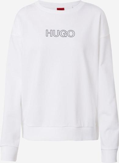Bluză de molton 'Nakira_3' HUGO pe negru / alb, Vizualizare produs
