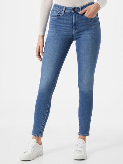 LEVI'S Jeans '721 High Rise' in blue denim, Modelansicht