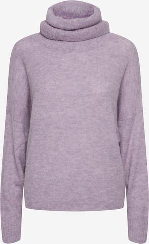 ICHI Sweater 'Kamara' in Purple