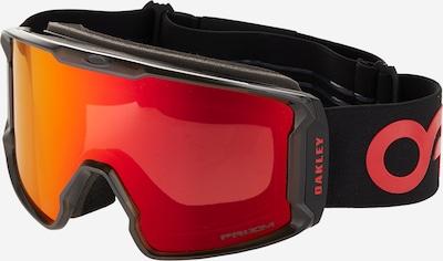 OAKLEY Lunettes de sport 'Line Miner' en rouge / noir, Vue avec produit