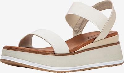 INUOVO Sandale in beige / creme, Produktansicht