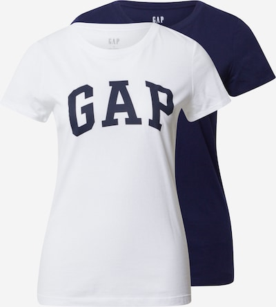GAP Tričko 'FRANCHISE' - námornícka modrá / biela, Produkt