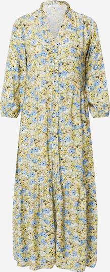 Rich & Royal Blousejurk in de kleur Pastelblauw / Lichtblauw / Oker / Geel / Wit, Productweergave