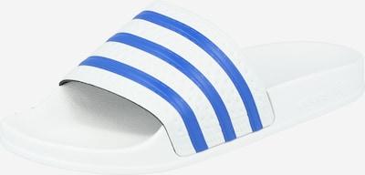 ADIDAS ORIGINALS Pantolette 'Adilette' in himmelblau / weiß, Produktansicht