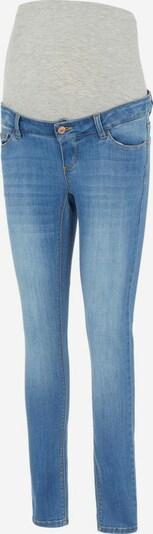 MAMALICIOUS Jean en bleu denim / gris chiné: Vue de face