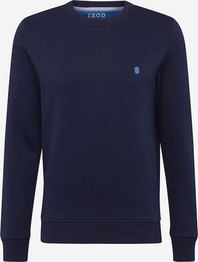 IZOD Sweat-shirt 'Advantage' en bleu foncé, Vue avec produit