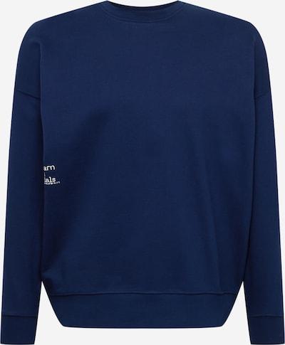 Goldgarn Sweatshirt in navy / weiß, Produktansicht