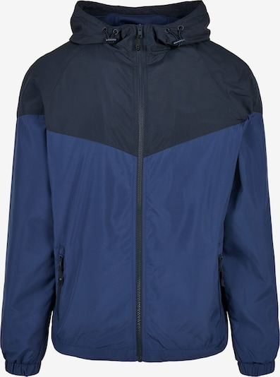 Urban Classics Tussenjas in de kleur Navy / Donkerblauw, Productweergave