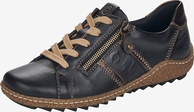 REMONTE Athletic Lace-Up Shoes in Night blue / Brown, Item view