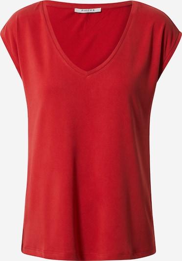 PIECES T-Shirt 'Kamala' in rot, Produktansicht