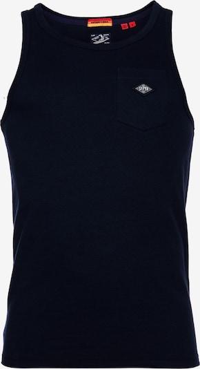 Superdry T-Shirt en marine / blanc, Vue avec produit