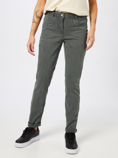 CECIL Jeans 'Gesa' in de kleur Groen, Modelweergave