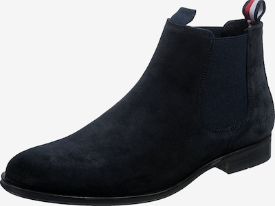 TOMMY HILFIGER Chelsea Boots in navy / rot / weiß, Produktansicht