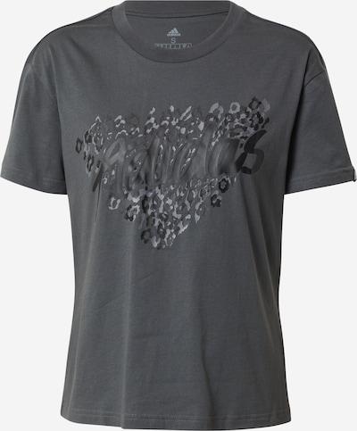 ADIDAS PERFORMANCE Функционална тениска в антрацитно черно / тъмносиво, Преглед на продукта