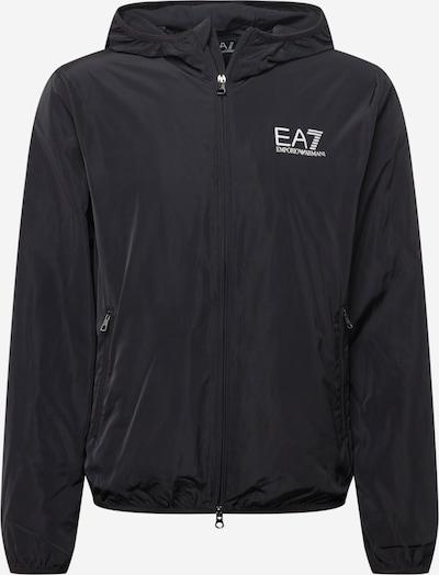 EA7 Emporio Armani Prijelazna jakna u crna / bijela, Pregled proizvoda