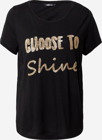 PRINCESS GOES HOLLYWOOD Shirt 'Shine' in Gold / Black, Item view