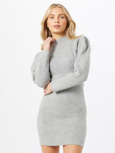 Missguided Kleid in graumeliert, Modelansicht