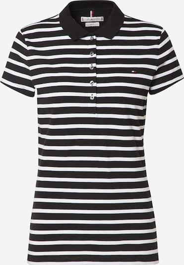 TOMMY HILFIGER T-shirt en noir / blanc, Vue avec produit