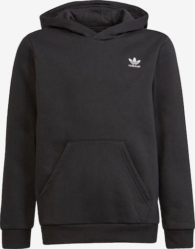 ADIDAS ORIGINALS Sweatshirt i svart / vit, Produktvy