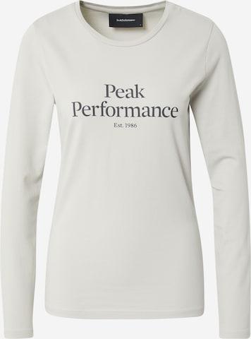 PEAK PERFORMANCE Funksjonsskjorte i grå