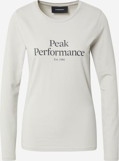 PEAK PERFORMANCE T-shirt fonctionnel en gris clair, Vue avec produit