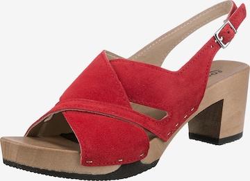 SOFTCLOX Sandale 'Runa' in Rot