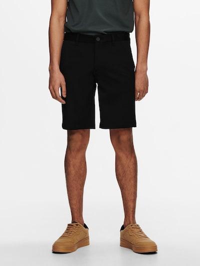 Only & Sons Chino kalhoty 'Mark' - černá, Model/ka
