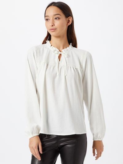 JACQUELINE de YONG Bluse 'Joey' in weiß, Modelansicht