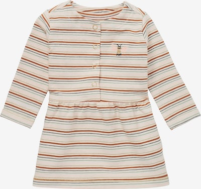 Noppies Kleid in beige / dunkelblau / rostbraun / grasgrün / pastellpink, Produktansicht