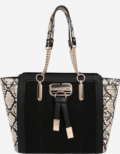 Pirkinių krepšys iš River Island , spalva - smėlio / juoda, Prekių apžvalga