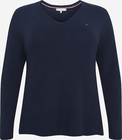 Tommy Hilfiger Curve Trui 'HAYANA' in de kleur Donkerblauw, Productweergave