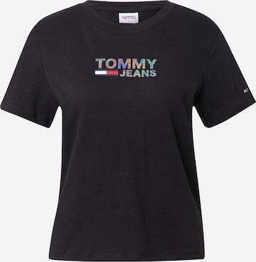 Tricou de la Tommy Jeans pe negru