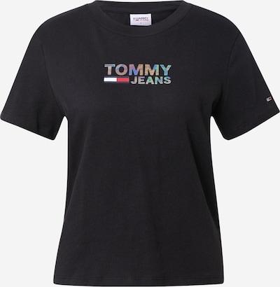 Tricou Tommy Jeans pe turcoaz / mov închis / roșu / negru / alb, Vizualizare produs
