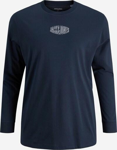 Jack & Jones Plus T-Shirt en bleu, Vue avec produit