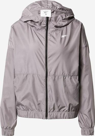 REEBOK Jacke in grau, Produktansicht