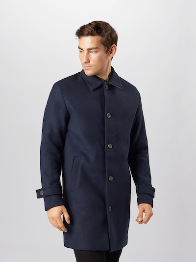 JACK & JONES Between-seasons coat 'JORTURNER' in navy, View model