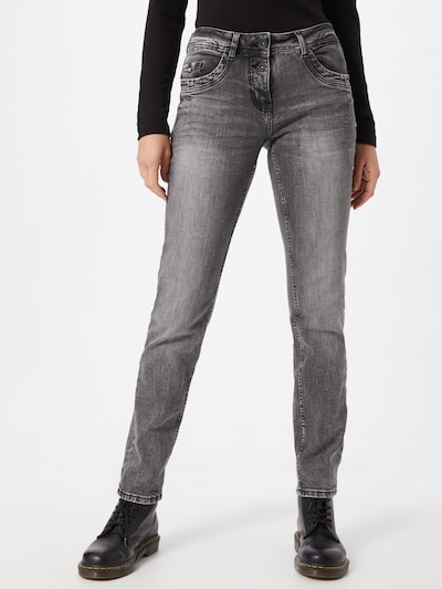 CECIL Jeans 'Scarlett' in de kleur Grey denim, Modelweergave