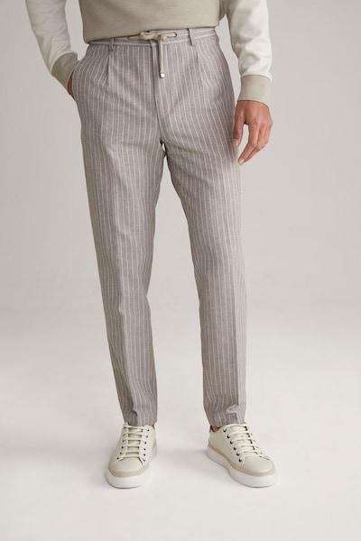 JOOP! Joggpants ' Eames ' in beige / weiß, Modelansicht