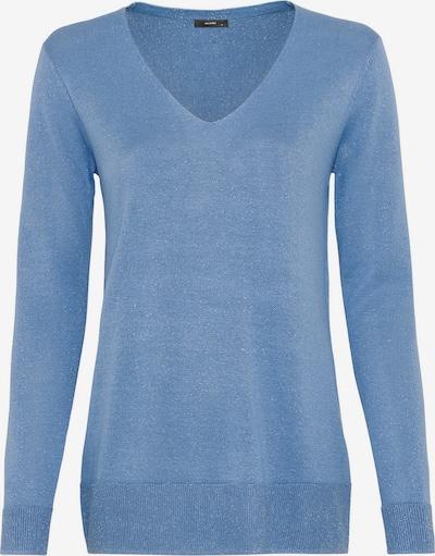 HALLHUBER Long-Pullover mit Lurexgarn in blau, Produktansicht