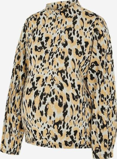 MAMALICIOUS Bluse 'BRIT' in gelb / schwarz / weiß, Produktansicht