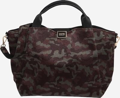 STEFFEN SCHRAUT Handväska 'AMBER' i choklad / mörkbrun / mörkgrön, Produktvy