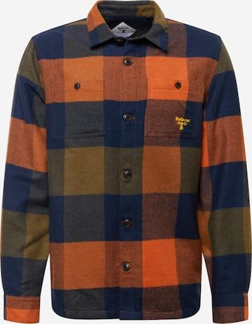 Barbour Beacon Skjorte 'Firtree' i blå