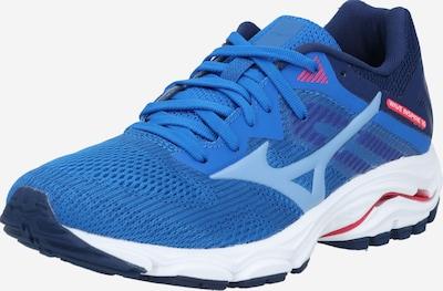 MIZUNO Sportschoen 'Wave inspire 16' in de kleur Blauw / Zwart / Wit, Productweergave