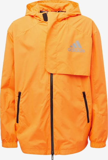 ADIDAS PERFORMANCE Funktionsjacke in orange / schwarz, Produktansicht
