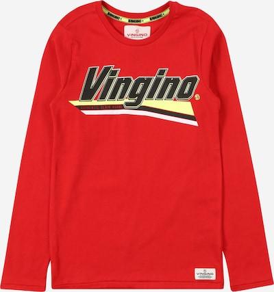 VINGINO Tričko 'Jomio' - světle žlutá / jasně červená / černá, Produkt